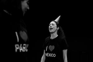Ruido Blanco -Julie Pichavant y Claudia Cabrera- IV Ciclo de Dramaturgia Contemporànea escrita y dirigida por mujeres en collaboracion con el Teatro el Granero y el centro cultural del Bosque-Mexico -curadoria Carmen Ramos