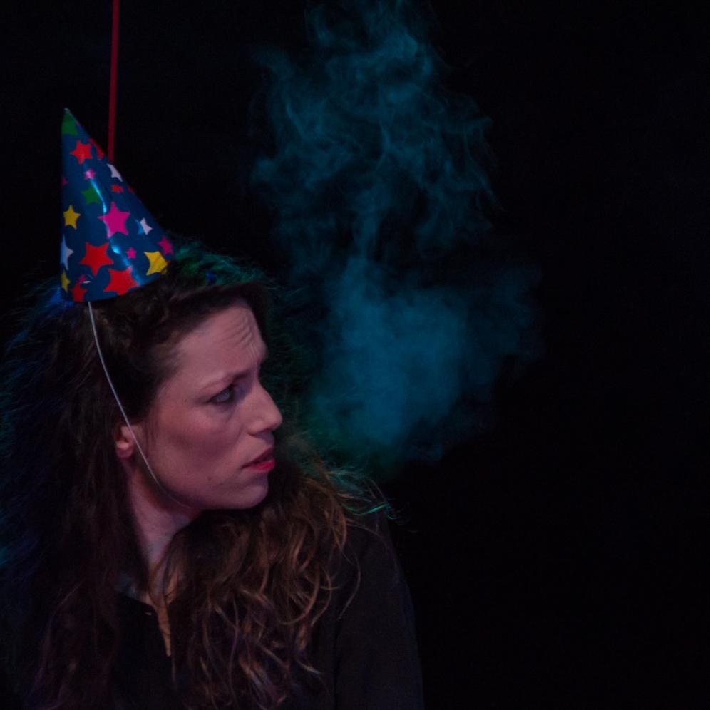 Juile Pichavant - Auteur, performeuse, metteur en scène - Photo Fassbinder Work In Progress
