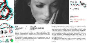 Hemibrycon Brevispini- Julie Pichavant y Vladimir Cortes Montero - III Festival Internacional de Arte Contemporáneo de Manizales-Universidad Bellas Artes de Caldas - Colombia
