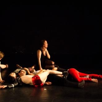 KAOS Julie Pichavant workshop performance