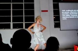 Syndrome Marilyn de Julie Pichavant La vida es una tombola - JuSyndrome Marilyn -Julie Pichavant -II Festival Internacional de Arte Contemporáneo de Manizales-Universidad Bellas Artes de Caldas-Colombia